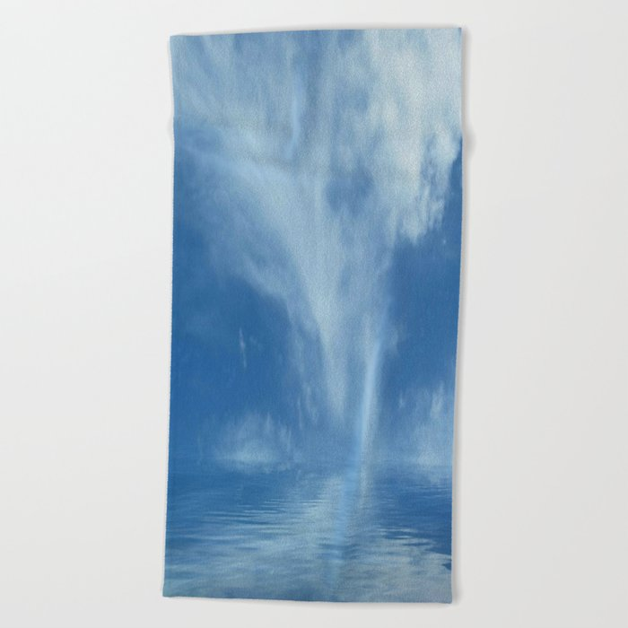 Sky Meets Sea Beach Towel