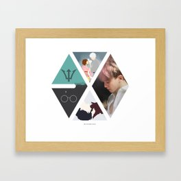 Exo and others Framed Art Print