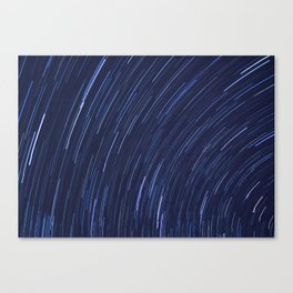 Star Trails Three Canvas Print