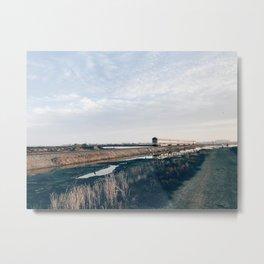 BLUE MOON XIV / Alviso, California Metal Print