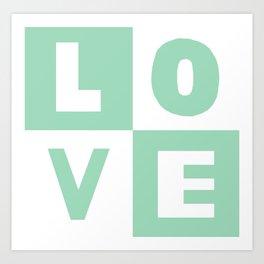 Love Mint Art Print