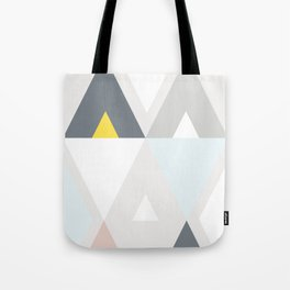 Triangle scandinave Tote Bag