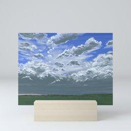 Skies of South Dakota Mini Art Print