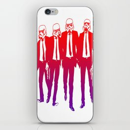 Clones on Fire iPhone Skin