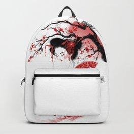 Red Geisha Backpack