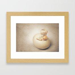 hatching  Framed Art Print