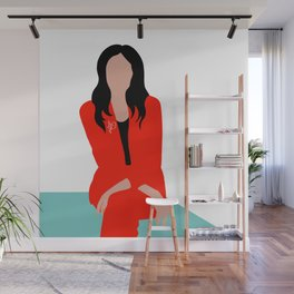 Red Suit Wall Mural