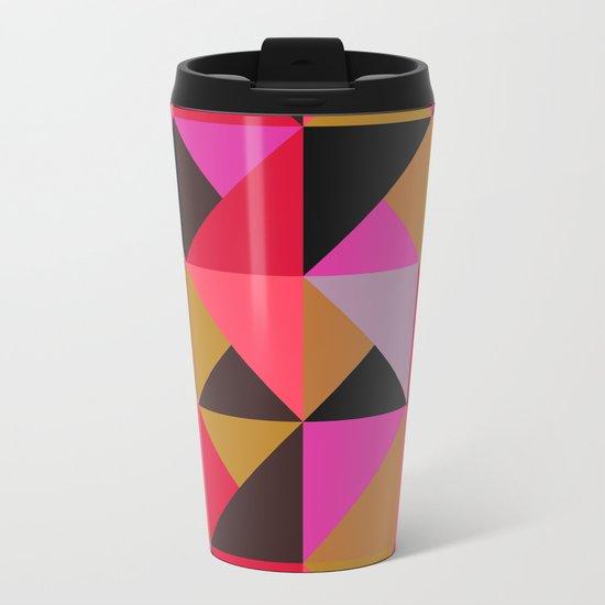 colour + pattern 19 Metal Travel Mug