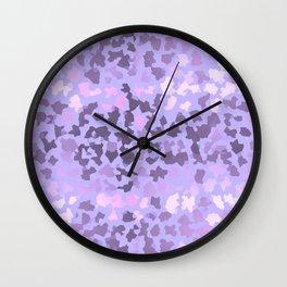 SAFARI MAGENTA Wall Clock
