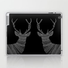 Stag / Deer (On Black) Laptop & iPad Skin