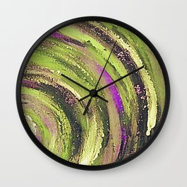 Spiral nature Wall Clock