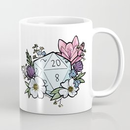 Dungeons & Flowers Coffee Mug