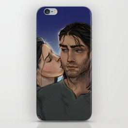 Elide and Lorcan iPhone Skin