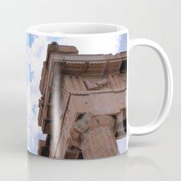 Sky above Parthenon Coffee Mug