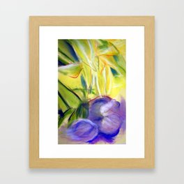 Rectory Series: Lily Framed Art Print