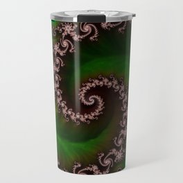 Benthic Saltlife Fractal Tribute for Reef Divers Travel Mug