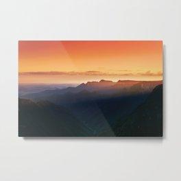 Monte Negro Canyon Metal Print