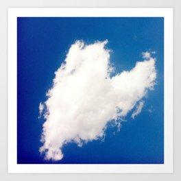 Heart 2: Cloud Art Print
