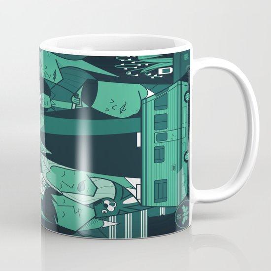 Breaking Bad (green version) Mug