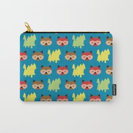 The Bandit Raccoons II Carry-All Pouch
