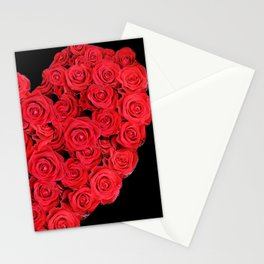 Love hearts II Stationery Cards