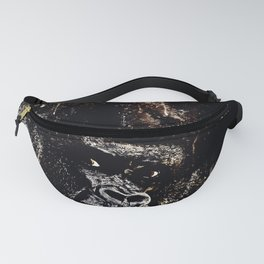 gorilla monkey face expression wsfn Fanny Pack