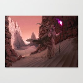 The Quest of Flame Canvas Print