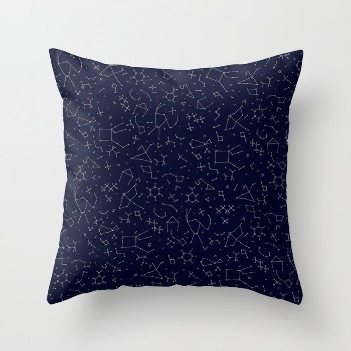 Chemicals and Constellations Deko-Kissen