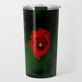 Popping Poppy Travel Mug