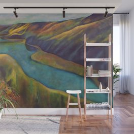 Bird's Eye View Wall Mural