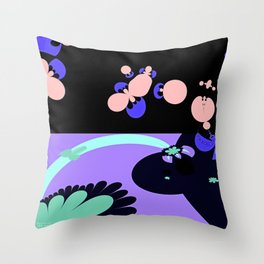 Rubber Baby Buggy Bumpers Throw Pillow