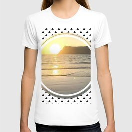 Port Erin - small triangle graphic T-shirt