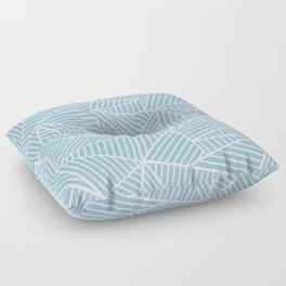 Ab Lines Sky Blue Floor Pillow