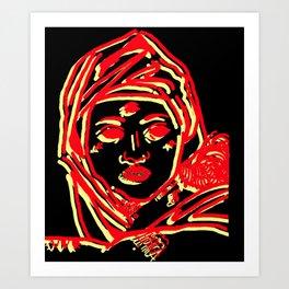 Sibilla Art Print