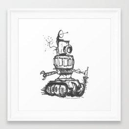 Communication Robot Framed Art Print
