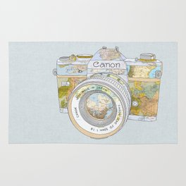 TRAVEL CAN0N Rug
