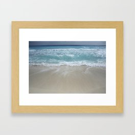 Carribean sea 5 Framed Art Print