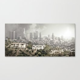 LA is Burning Canvas Print