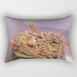Bearded Dragons Rectangular Pillow