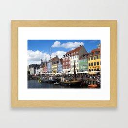Nyhavn Framed Art Print