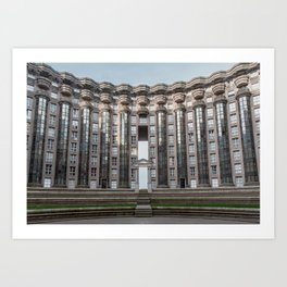 Architecture Noisy Le Grand Hunger Game Art Print