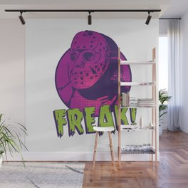 Freak Drawings: Jason Wall Mural