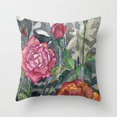 Beautiful Roses Throw Pillow
