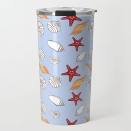 Conchas azuis Travel Mug