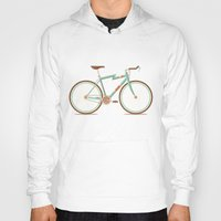Hoodies featuring Bicycle by Daniel Mackey