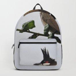 Red-Whiskered Bulbul Backpack