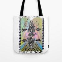 libra Tote Bags featuring LIBRA by Caroline Vitelli GOODIES