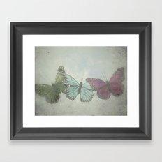 Under Wild Blue Skies Framed Art Print