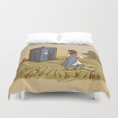 Adventure in the Great Wide Somewhere Duvet Cover
