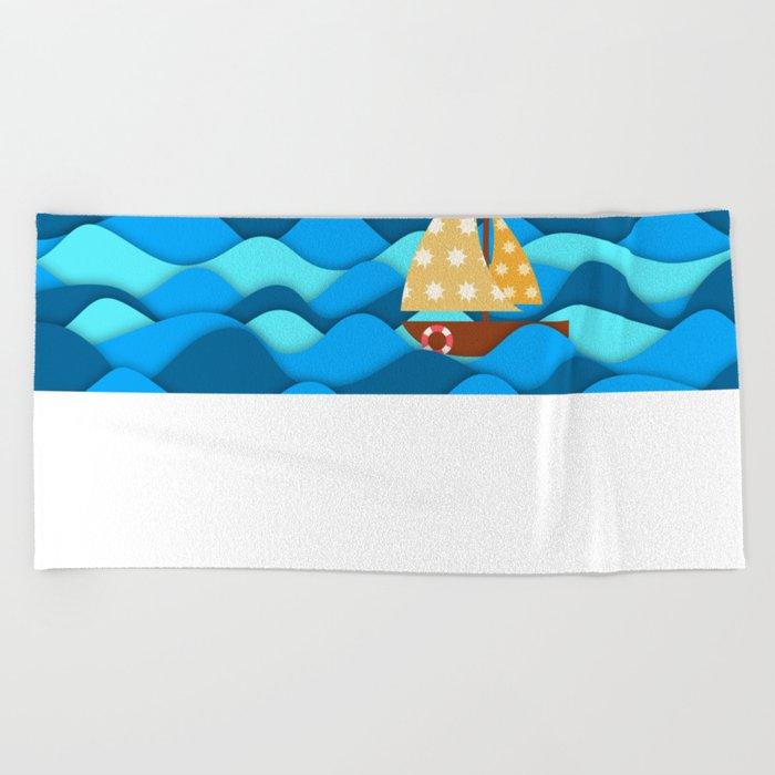 Adventure Beach Towel